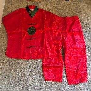 Yi Fang Asian Silk Matching Set